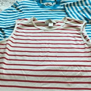 Tops - Two striped tee shirts